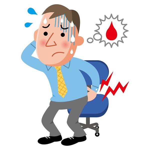 切れ痔(裂肛)の主な症状